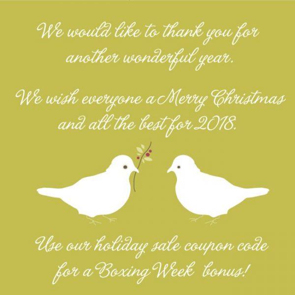 Merry Christmas & Happy New Year from Haute Note - HauteNote.com
