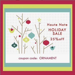 Haute Note Holiday Sale - HauteNote.com