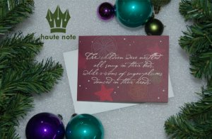 Haute Note Christmas Reminder - 2014