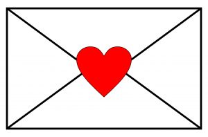 Envelope & Heart - Haute Note - HauteNoteCards.com