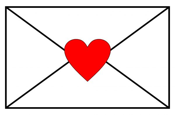 Envelope & Heart - Haute Note - HauteNoteCards.com