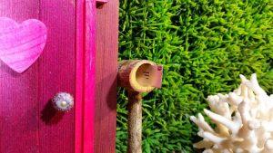 Garden Fairy Doors - Fairy Door - Snail Mail - HauteNoteCards.com