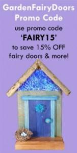 GardenFairyDoors on Etsy - Fairy Doors, Gnome Homes, Pixie Portals and more - GardenFairies.ca