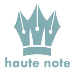 Haute Note - Haute Note Crown logo - Haute Note is a company selling personalized notes and stationery
