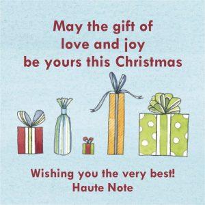 Haute Note Christmas - HauteNoteCards.com