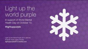 Light Up The World Purple - 2014 - Amanda Todd Legacy