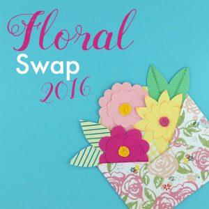 Pretty Postal Floral Swap - HauteNoteCards.com
