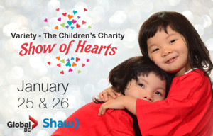 Five dollars from every Haute Note order placed in January & February goes to Variety to help BC's kids !!! - Variety - The Children's Charity - Variety Club
