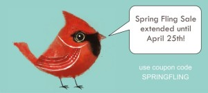 Haute Note Spring Fling Sale - Exntended until April 25th - Personalized Stationery & Custom Notes - HauteNoteCards.com
