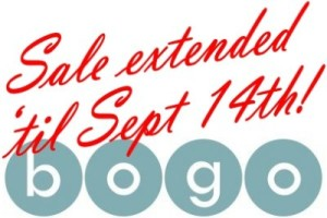 Haute Note's BOGO SALE - Extended until Sept. 14, 2014 - Buy One Get One Free