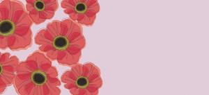 Haute Note Poppy Card - Royal Canadian Legion Poppy Fund - Fundraiser - hauteNoteCards.com