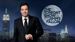 Jimmy Fallon - Host of The Tonight Show starring Jimmy Fallon - we do not own this image, but thanks for allowing us to borrow it
